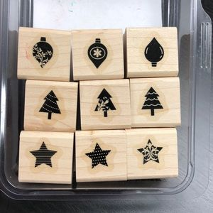 "Stampin' Up! ""Merry Minis"" Stamp Set"